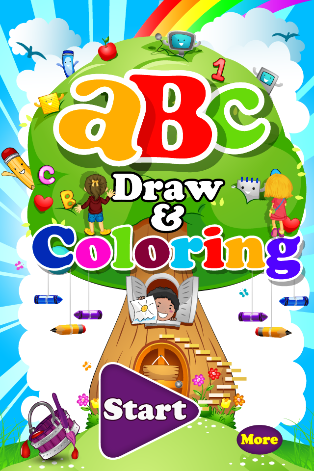 Screenshot ABC-Draw and Coloring